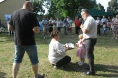 20180721 Straduń - św. Krzysztof - Piknik Rodzinny - losowanie fantów