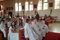 20200913 I Komunia Święta - na zakończenie wspólne nabożeństwo
